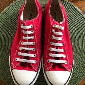 Unisex Converse RED M9696 AllStar Low Tops Shoes